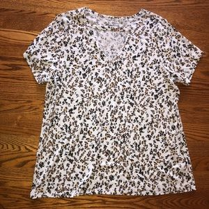 Lane Bryant cheetah leopard graphic tee
